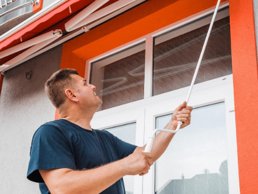 Awning cleaning and care
