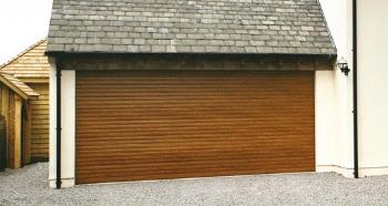 SWS Garage Doors Woodgrain