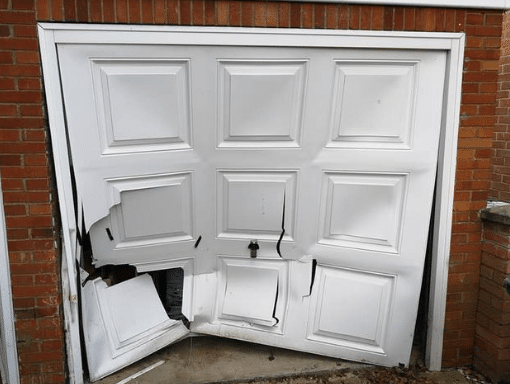 Garage door maintenance broken garage