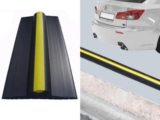 Garage door maintenance rubber seal