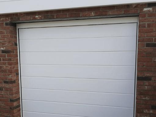 Replacement Garage Roof and new door