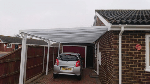 Carport installation Clenchwarton Norfolk