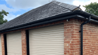 Gutters and Fascias for garage