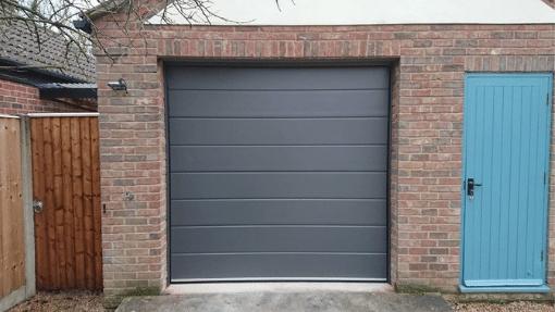 King's Lynn Carteck sectional garage door