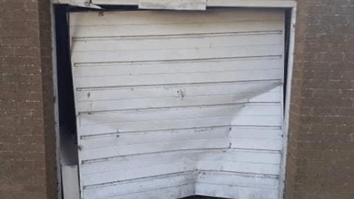 King's Lynn Garador Garage Door Before