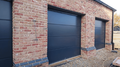3 Carteck insulated sectional garage doors Long Sutton, Lincoln