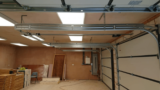inside of 3 Carteck insulated sectional garage doors Long Sutton, Lincoln
