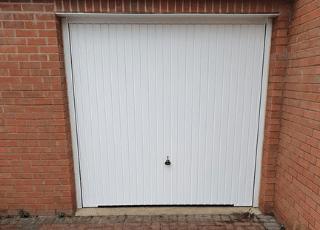 Garador Garage Door Steel Canopy Door