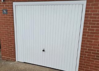Garador Garage Door White