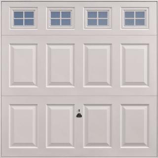Garage door with windows Garador Beaumont