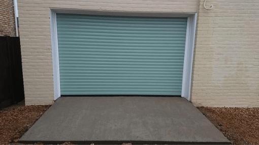 SWS LT automated roller door installed in Dersingham, Kings Lynn, Norfolk