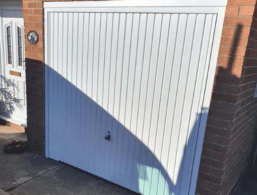 Spalding Garador Garage Door After