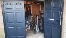 Side hinged garage doors Norfolk