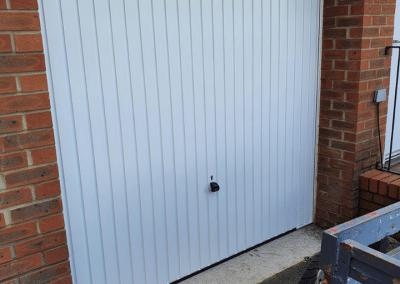 Garador Carlton Canopy Garage Door - from stock £595 installed.