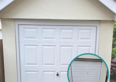 Garador Beaumont canopy door - Complete Garage Doors Norfolk.