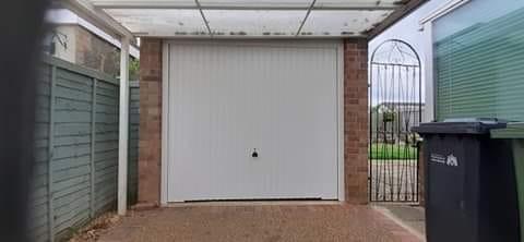 Another Garador Carlton garage door installed in Dersingham.