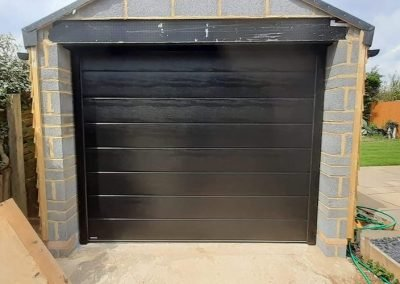 Carteck Insulated sectional garage door installed in Swaffham.