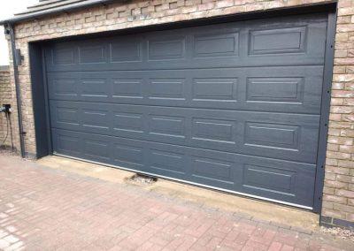 Carteck Georgian Garage Door in Anthracite installed in Spalding.