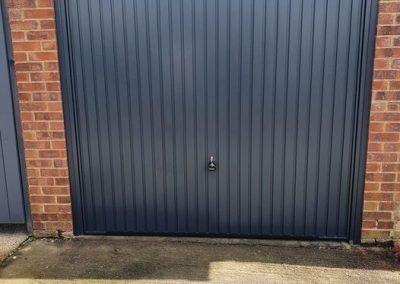 Garador Carlton Garage Door in Anthracite. Kings Lynn.