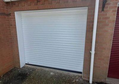 SWS Excel secure by design automated roller garage door.