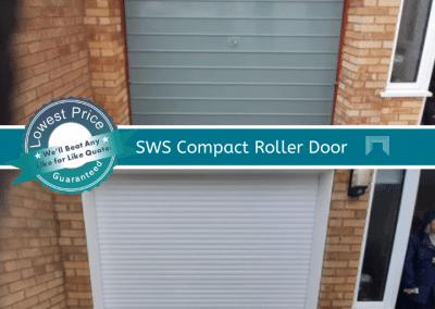 SWS Compact Roller Garage Door Norfolk.