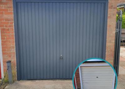 Anthracite Garador Carlton Garage Door Heacham.