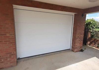 Carteck insulated sectional garage door in West Lynn.
