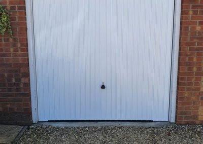Garador Carlton Garage Door White Norfolk.