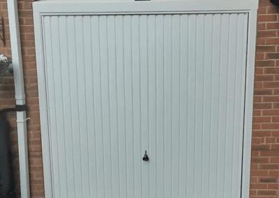 Garador Carlton canopy door inc a steel frame Spalding.