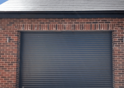 SWS LT RD77 insulated roller door in Anthracite Kings Lynn.