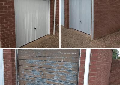 Cheapest New Garage Doors - Garador Carlton from £595.