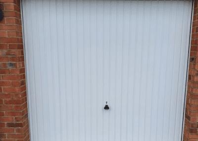 Garador Carlton canopy door inc a steel frame.