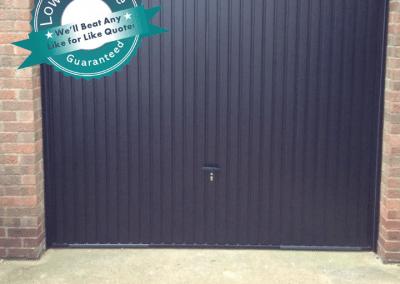 Coming Soon Novotherm Anthracite Retractable Garage Door £650 from stock