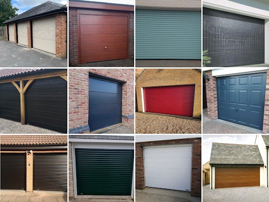 New garage doors - installations in Norfolk and South Lincoln