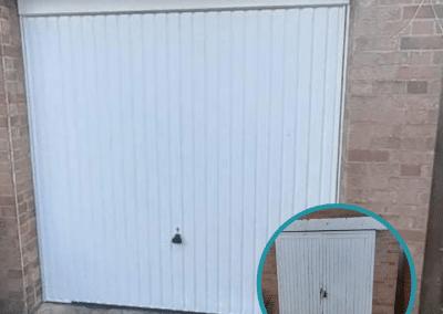 Garador Carlton retractable door inc a steel frame installed in Ingoldisthorpe