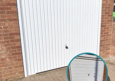 Garador Carlton canopy door installed in Heacham