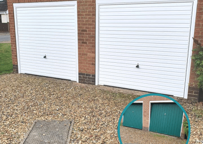 Another garage transformed this morning in Kings Lynn