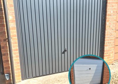 Garador Carlton Garage door replacement in Heacham