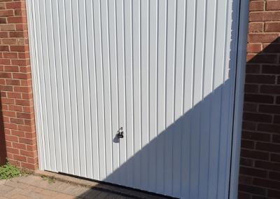 Another fine Garador Carlton garage door installed in Spalding.