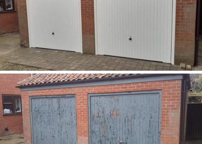 Transformed with Garador Carlton Garage Doors from £595 installed.