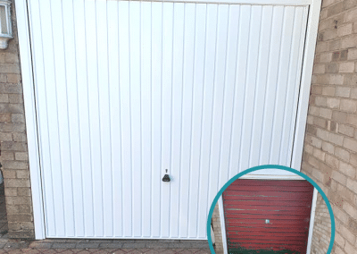 Garador Carlton canopy door installed in Long Sutton